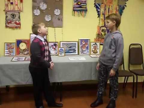 Изображение предпросмотра прочтения – «Учащиеся 5 класса Пряжинской СОШ» читают произведение «Демьянова уха» И.А.Крылова