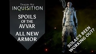 Dragon Age: Inquisition - Spoils of the Avvar DLC - All New Armor