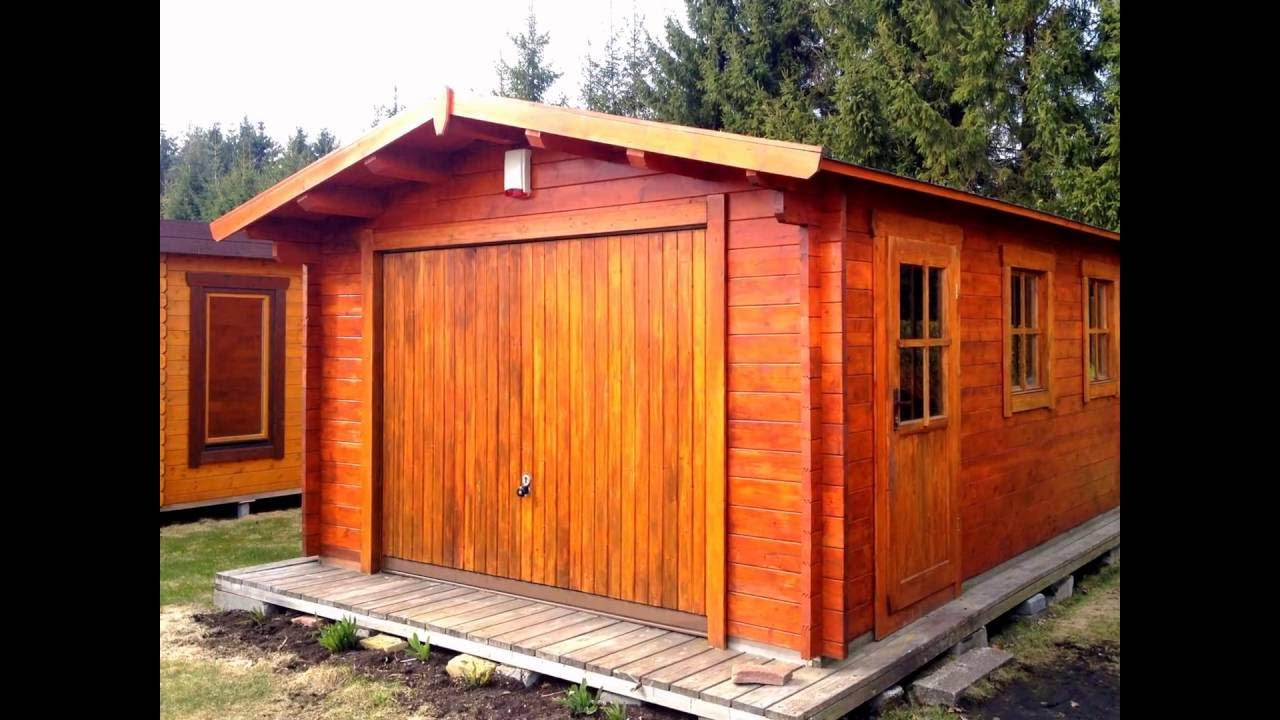 Garage in legno casette italia youtube for Casette italia