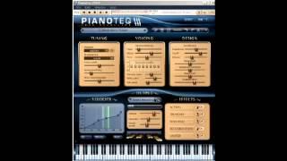 PianoteqにてYs3 予感 スティクス.