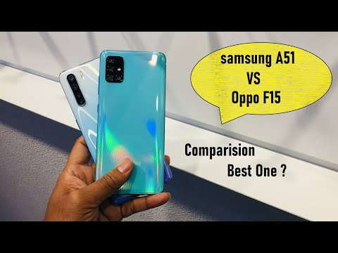Oppo F15 Vs Samsung Galaxy A51 Best Phone