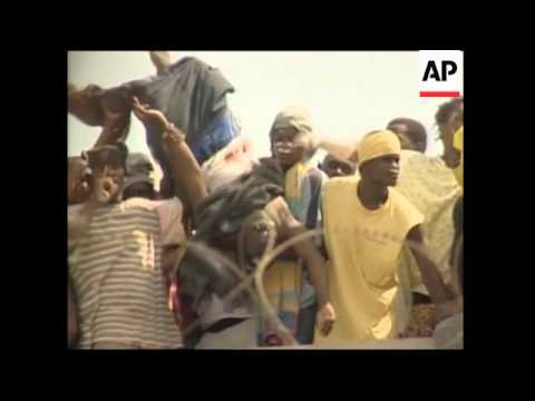 Prisoners riot at Haiti