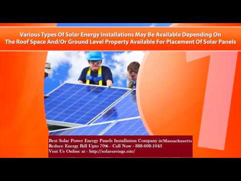 Best Solar Power (Energy Panels) Installation Company in Winchester Massachusetts MA
