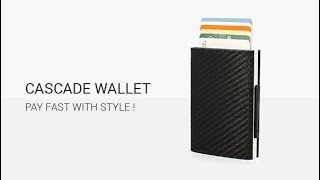 Card case, wallet CASCADE WALLET