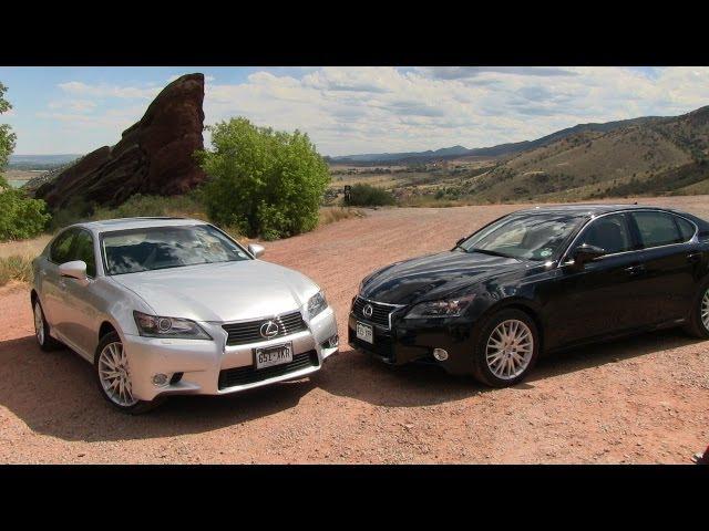 2013 Lexus Gs 350 Vs Gs450h 0 60 Mph Mashup Review