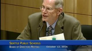 School Board Meeting Date: 10/12/2016 Part 2