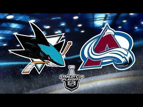 NHL® 18 Playoffs Round 3 | San Jose Sharks v.s. Colorado Avalanche | Game 1