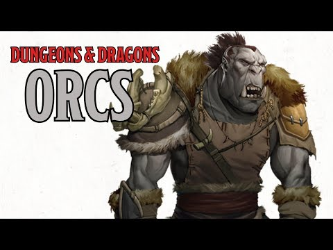 Orcs in Dungeons & Dragons