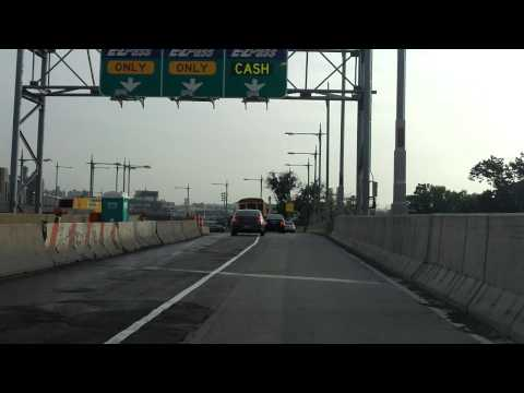 Robert F. Kennedy (Triborough) Bridge westbound (Queens to Manhattan)