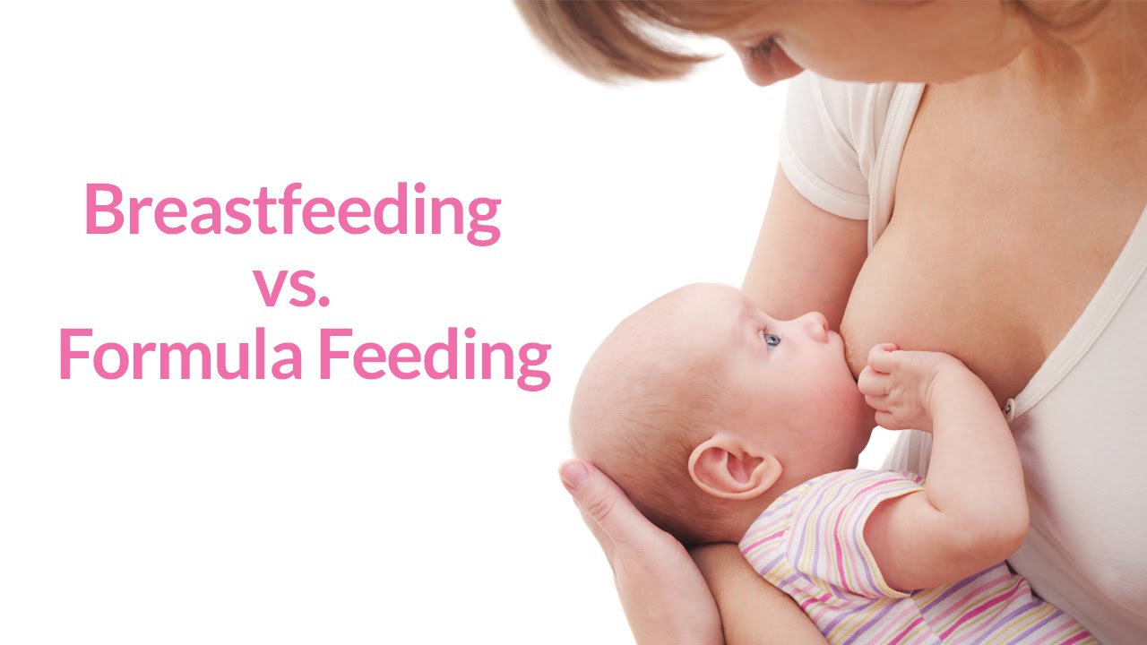 breastfeeding vs formla feeding When it comes to deciding between breastfeeding vs formula feeding your baby —or doing both—how do you sort out what's true and what's not check out the.