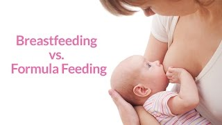 Breastfeeding vs. Formula Feeding by PregnancyChat