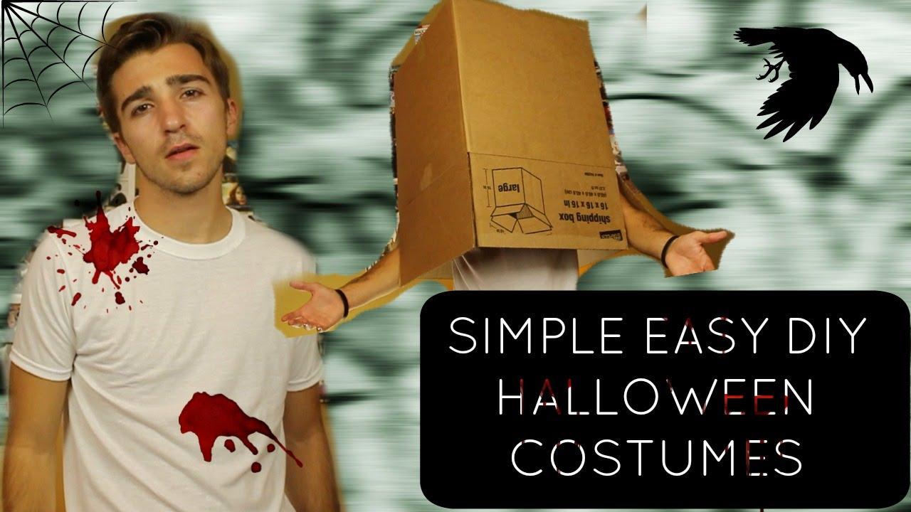 simple last minute halloween costumes boston tom youtube