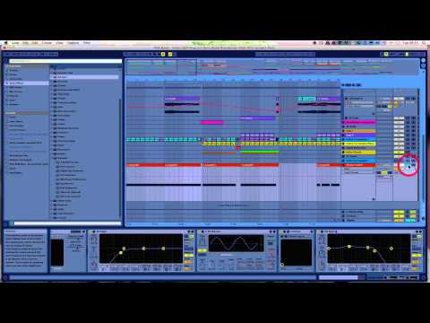 How to mix electronic music in Ableton Live 9 - Gain Structure - Channel level mixing tutorial