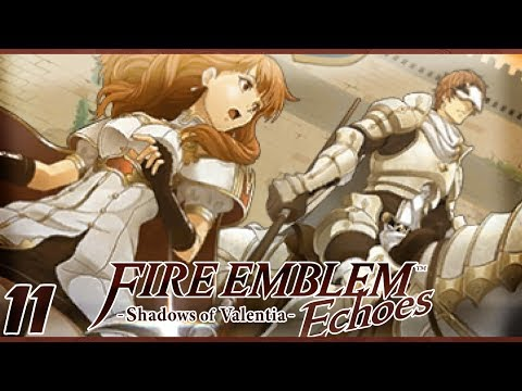 The Masked Knight | Let's Play Fire Emblem Echoes: Shadows of Valentia Part 11 w/ ShadyPenguinn