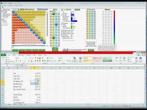 +EV Poker Strategy - Check/Raise vs C-bet on Aces High Two Tone Board.