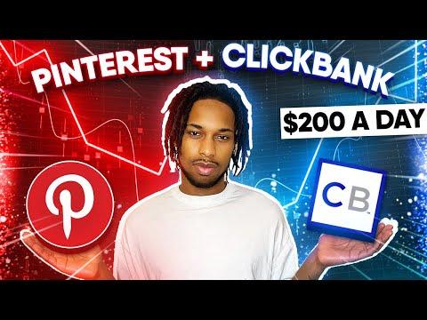 How To Make Money On Pinterest - Clickbank and Pinterest [Pinterest Affiliate Marketing]