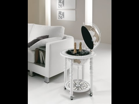 Modern Designer Globe Bars Made in Italy