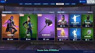 🔴 *NEW* TEMPEST & BOLT Skins - June 7th Fortnite Daily Item Shop