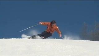 Урок 24 - Динамические повороты на лыжах. Горные лыжи видео(Англоязычный оригинал видео взят с этого канала https://www.youtube.com/user/elatemedia ..., 2013-10-27T12:23:10.000Z)
