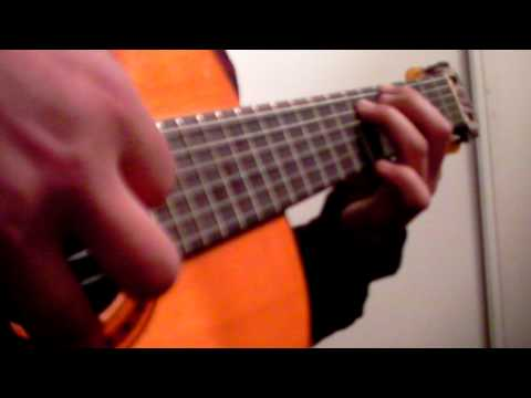 THE PINK PANTER BY LEE HURST ON ACUSTIC GUITAR.