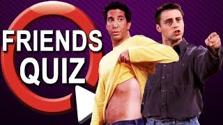 Friends Quiz | How Well Do You Know FRIENDS