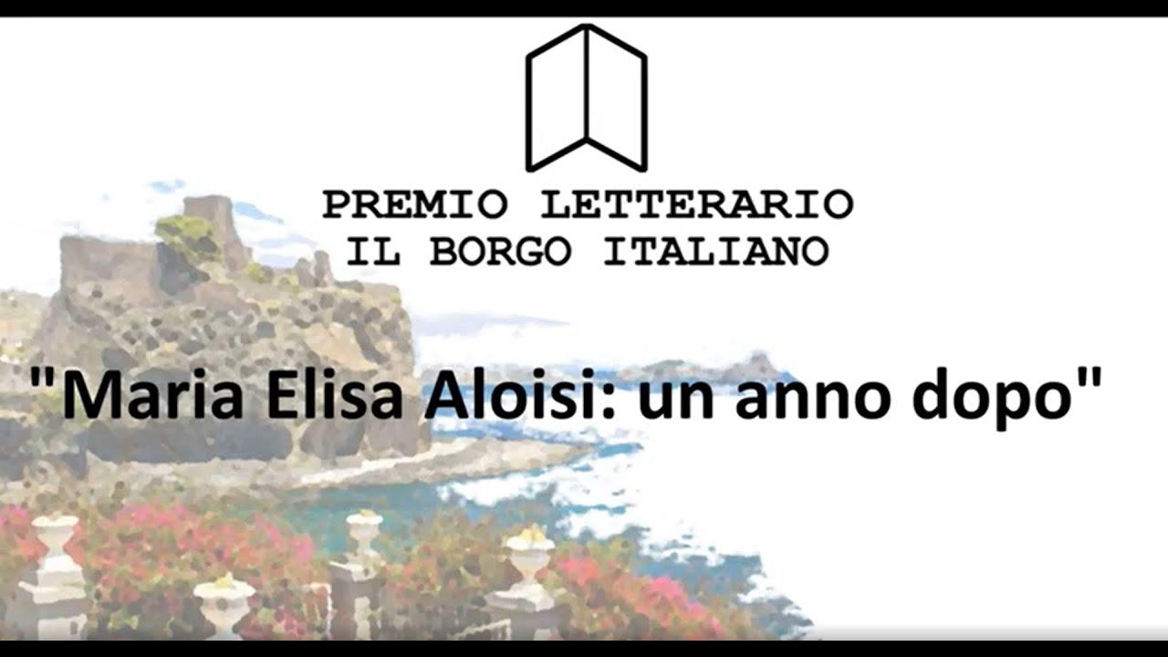 Maria Elisa Aloisi: dal Premio Letterario il Borgo Italiano alla cinquina Giallo Mondadori
