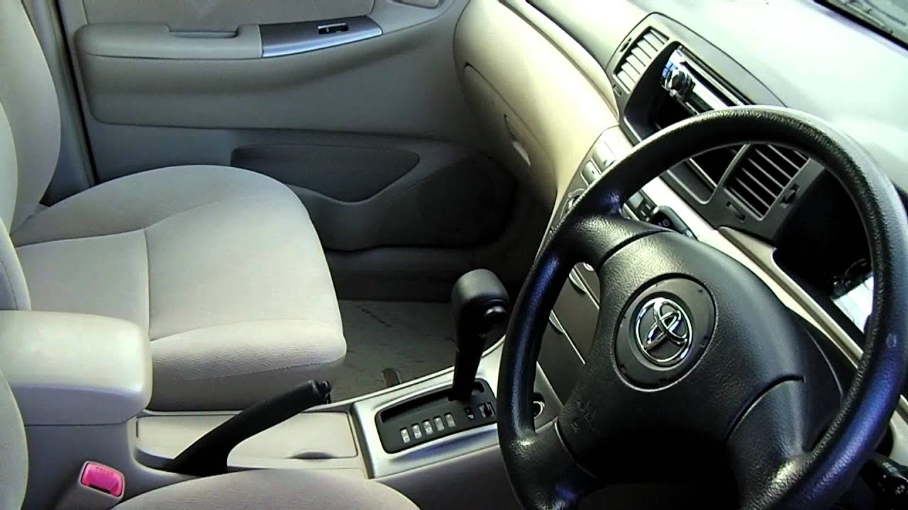 2004 Toyota Runx Youtube
