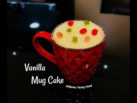 How to make a vanilla mug cake no egg