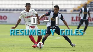 Universitario vs. Alianza Lima (0-1) - Amistoso 2016  Resumen y Goles en HD 25/06/16