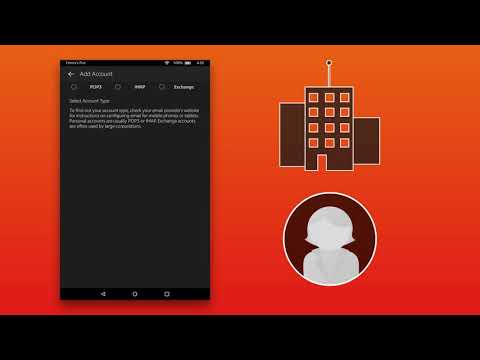 Amazon Fire Tablet: Email, Calendar & Contacts