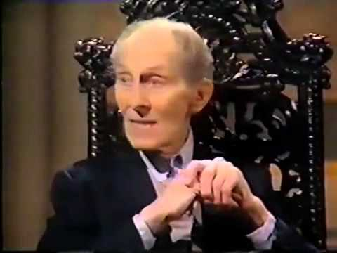 Peter Cushing on Wogan - Fourth Appearance.