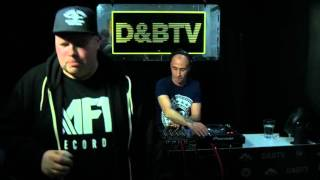 D&BTV Live #216 Playaz Takeover - Tyke & Carasel MC