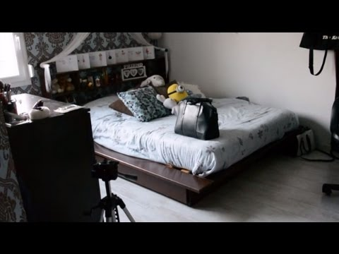 room tour ma chambre d 39 ado youtube. Black Bedroom Furniture Sets. Home Design Ideas