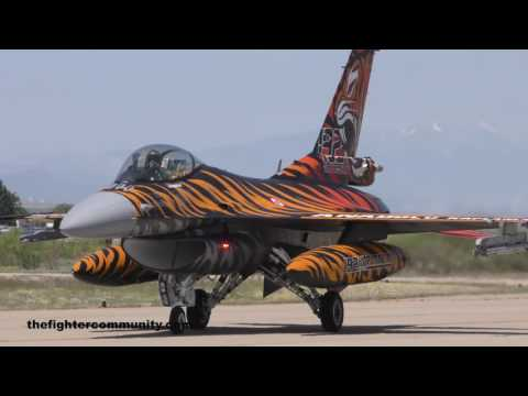 NATO Tiger Meet 2016, Ejército del Aire