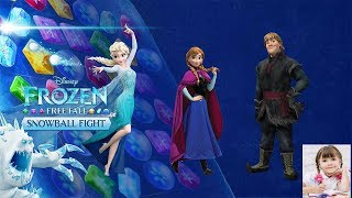 Frozen Free Fall (By Disney) Android & iPhone / iPad GamePlay | Kids TV 123 Channel