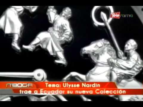 Ulysse Nardin trae a Ecuador su nueva colección