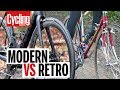 Modern VS Retro Road Bike | Cycling Weekly