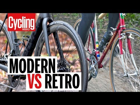 Modern VS Retro Road Bike | Cycling Weekly