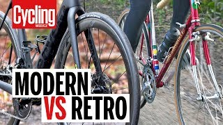 modern vs retro bike