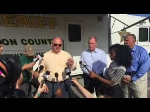 Active Shooter Press Conference with WCSO, BCSO, Panama City Police