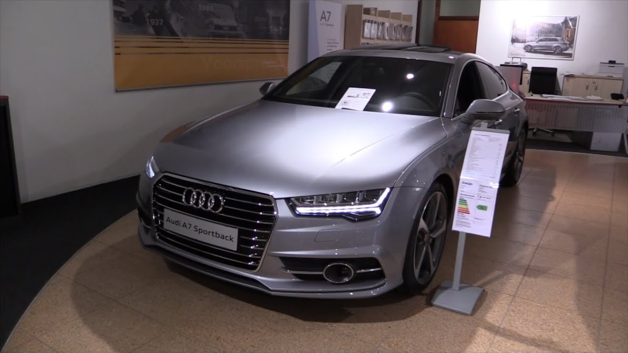 audi a7 s line 2017 in depth review interior exterior youtube. Black Bedroom Furniture Sets. Home Design Ideas