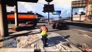 GTA 5 ONLINE - GLITCH | GET INSIDE OF HOUSE (LOS SANTOS CUSTOMS) | 5.8.2014