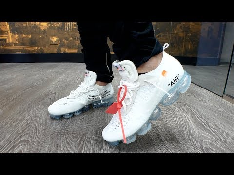 EARLY Off White Vapormax 2018 Review & On Feet! + Sneaker shopping in Las Vegas & More!