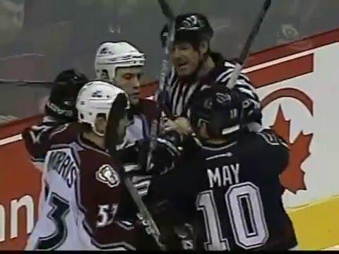 NHL  Mar.8/2004 Colorado Avalanche - Vancouver Canucks