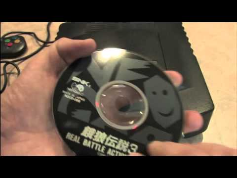 Classic Game Room - NEO-GEO CD console review