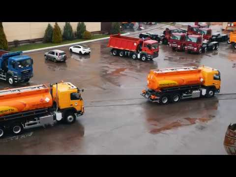 Бензовозы БЦМ 232, 229, 177 и АЦ 141 на шасси Volvo