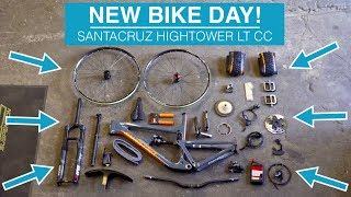 NEW BIKE DAY! Building my Santacruz Hightower LT - Day 1
