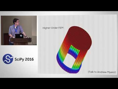 Analysis and Visualization of 3D Data with yt | SciPy 2016 |