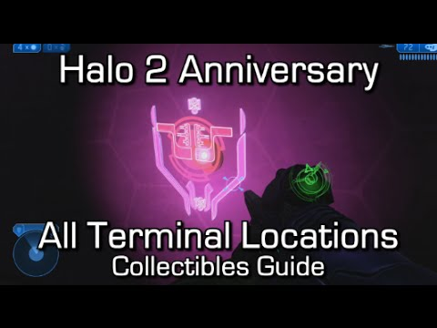 Halo 2 Anniversary - All Terminals Locations Guide - Walking Encyclopedia Achievement