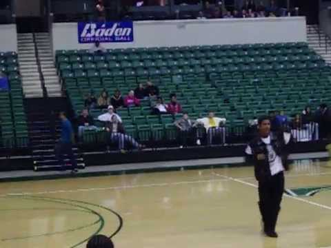 Eastern Michigan Basketball Midnight Madness highlights 2009(Thriller of Madness) pt 1